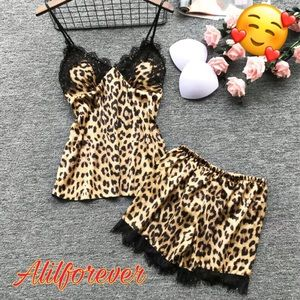 Leopard Lingerie Nightwear🥰
